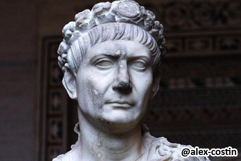 Trajan Marcus Ulpius Nerva Traianus Roman emperor